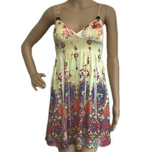VOLL Mandala Sublimation Boho Dress S